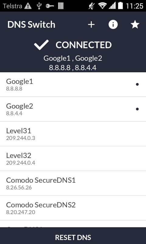 DNS Switch – Unlock Region Restrict Pro 1.6.2 دور زدن تحریم اینترنتی