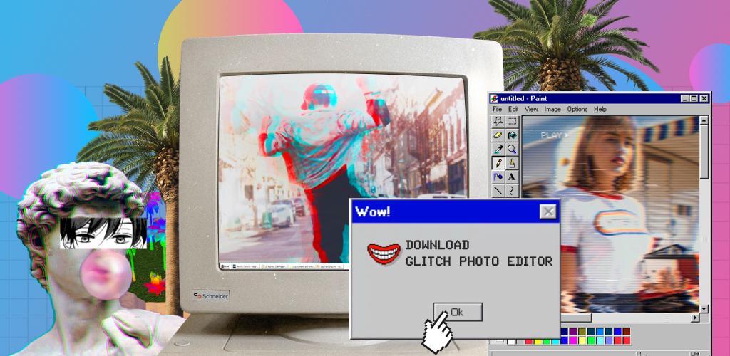 Glitch Photo Editor Pro 1.14.9 دانلود برنامه افکت عکس قدیمی اندروید