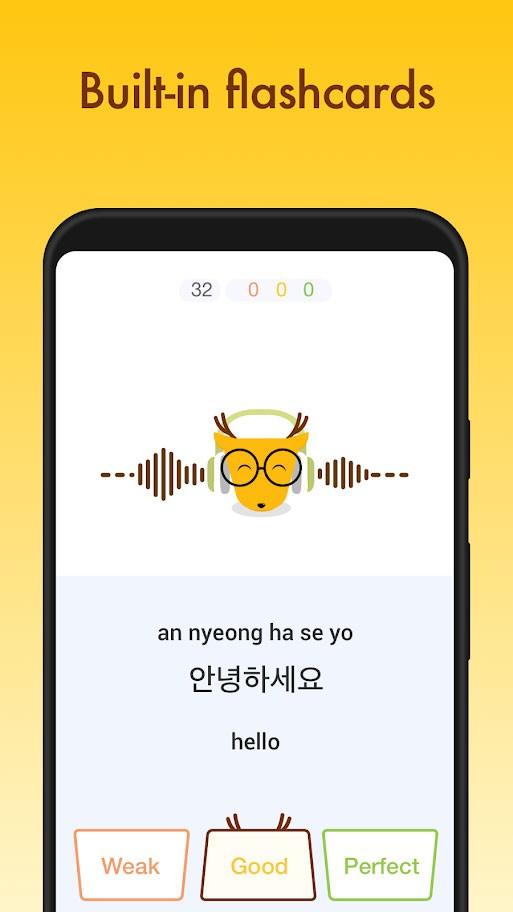 دانلود LingoDeer Premium 2.96 برنامه آموزش زبان کره ای، ژاپنی و چینی