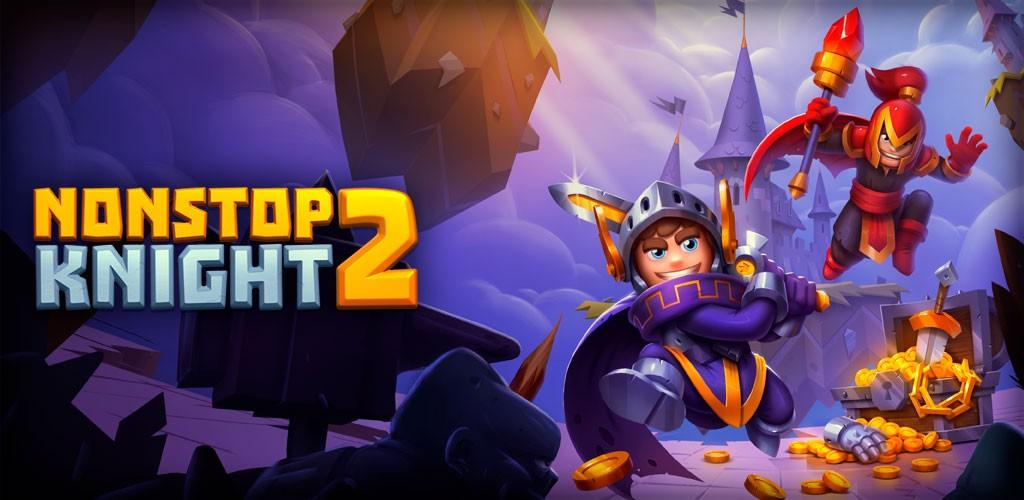 دانلود Nonstop Knight 2 2.4.0 بازی شوالیه بی وقفه 2 اندروید + مود