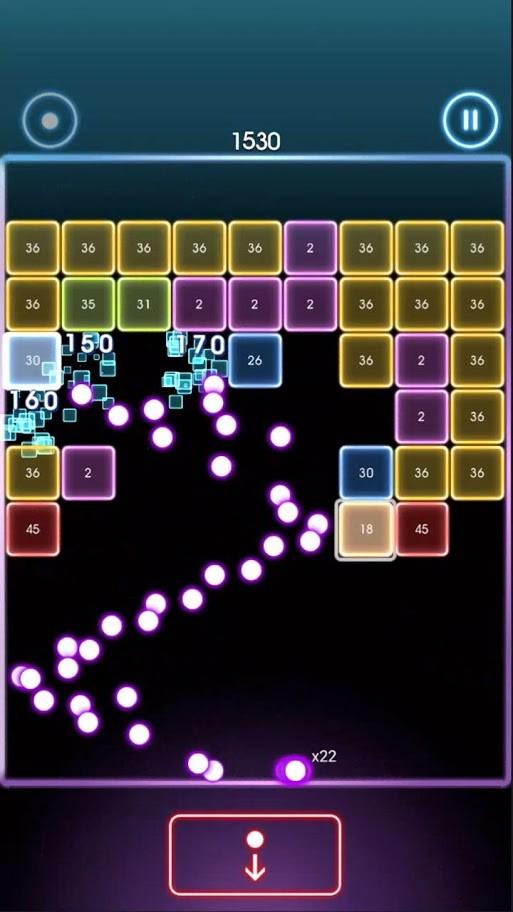 دانلود Bricks Breaker Quest 1.0.90 بازی تلاش آجر شکن اندروید + مود