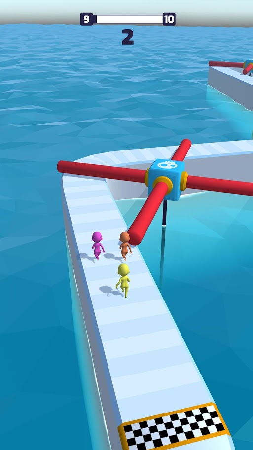 Fun Race 3D 1.1.9 دانلود بازی مسابقه دویدن پارکور اندروید + مود