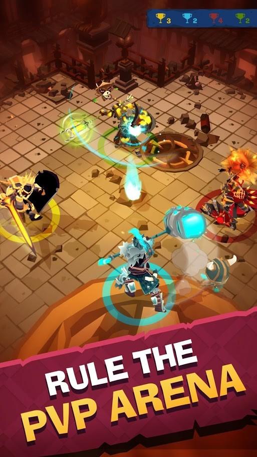 دانلود Mighty Quest 7.2.0 بازی تلاش برای غارت اندروید + مود