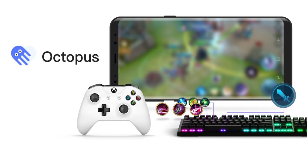 Octopus Pro 4.3.5 دانلود برنامه اختاپوس اجرای بازی اندروید با گیم پد، ماوس و کیبورد