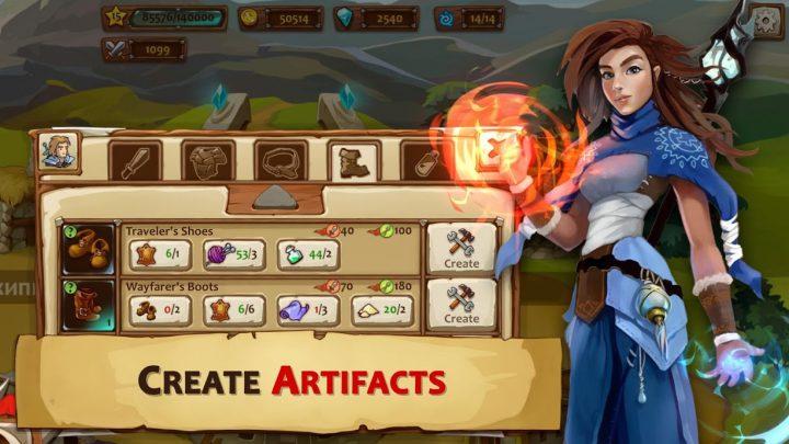 دانلود Braveland Heroes 1.49.22 بازی قهرمانان سرزمین شجاعت اندروید + مود