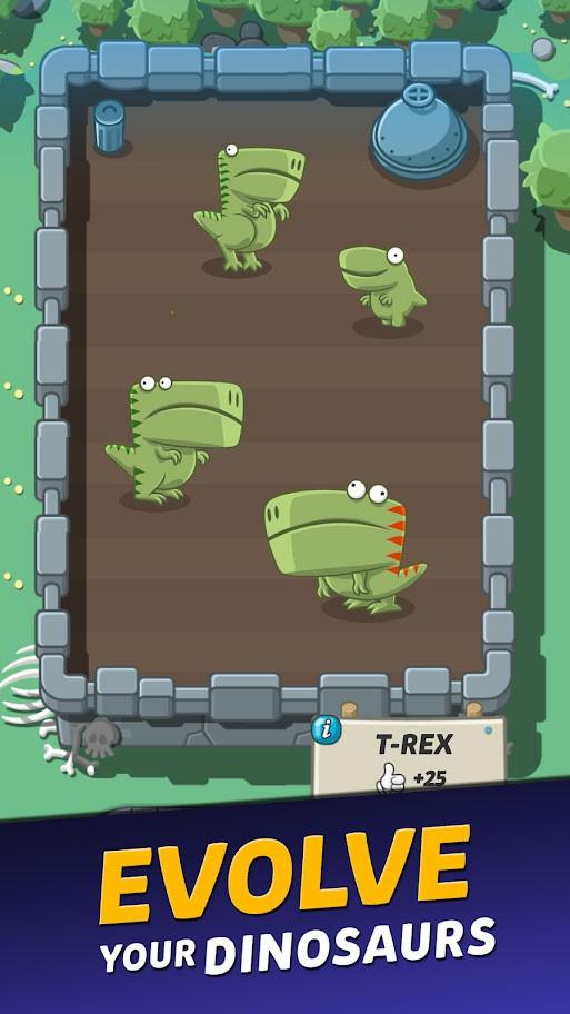 دانلود Crazy Dino Park 1.74 – بازی پارک دایناسورها اندروید + مود