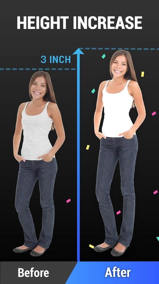 Height Increase – Increase Height Workout, Taller 1.0.3 دانلود برنامه افزایش قد
