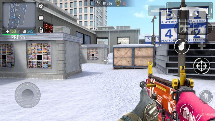 Modern Ops – Online FPS (3D Shooter) 2.70 دانلود بازی تیراندازی اندروید + مود