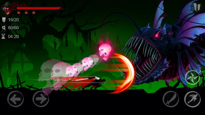 دانلود Ninja Raiden Revenge 1.6.5 بازی انتقام نینجا رایدن اندروید + مود