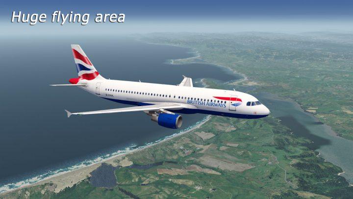 Aerofly 2 Flight Simulator 2.5.29 دانلود بازی شبیه ساز پرواز هواپیما اندروید + مود