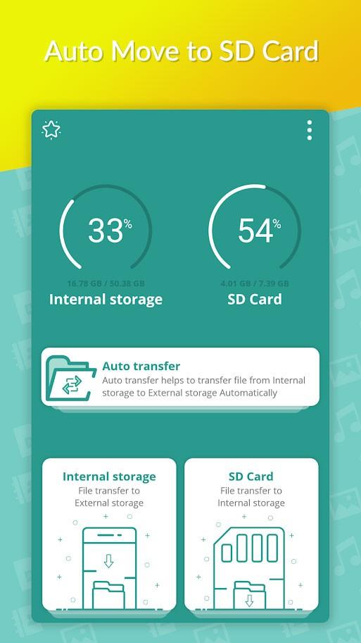 Auto Move To SD Card Premium 1.4.2 – انتقال خودکار فایل ها به کارت حافظه اندروید