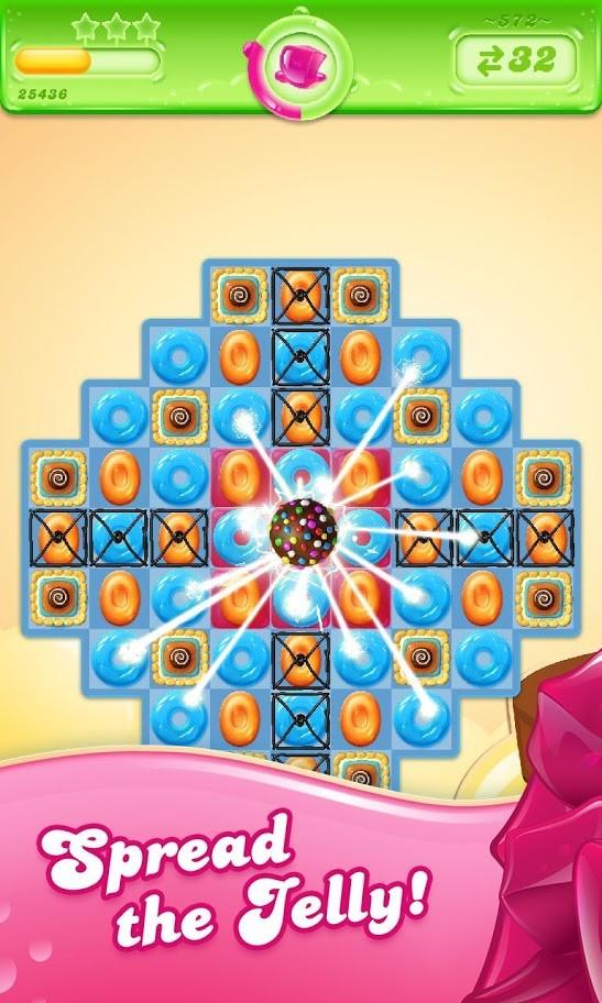 دانلود Candy Crush Jelly Saga 2.64.25 بازی کندی کراش ژله ای اندروید + مود