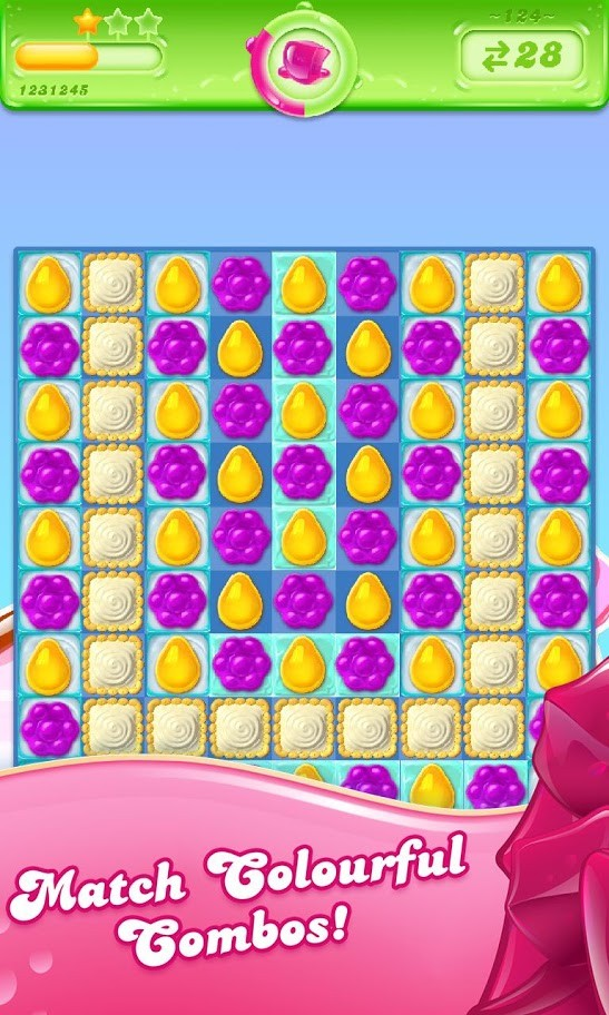 دانلود Candy Crush Jelly Saga 2.31.22 – بازی کندی کراش ژله ای اندروید + مود