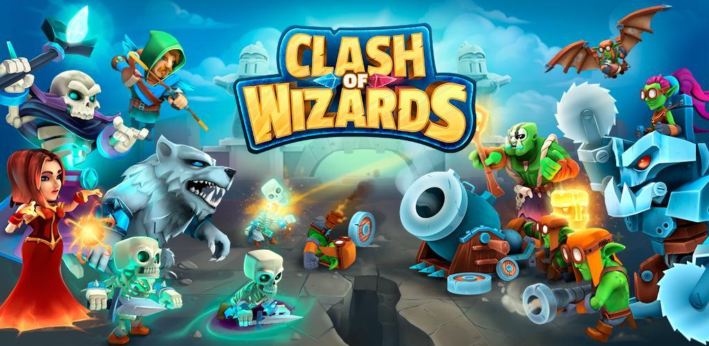 دانلود Clash of Wizards 0.25.7 بازی نبرد جادوگران اندروید