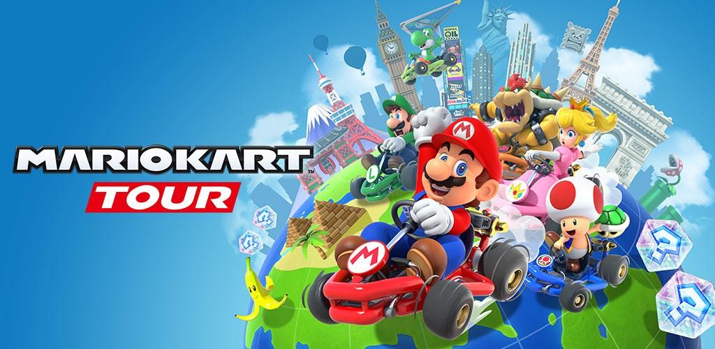 دانلود Mario Kart Tour 2.6.0 بازی تور ماشین سواری ماریو اندروید