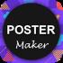دانلود Poster Maker Flyer Maker Pro 1.8 برنامه ساخت پوستر و بروشور
