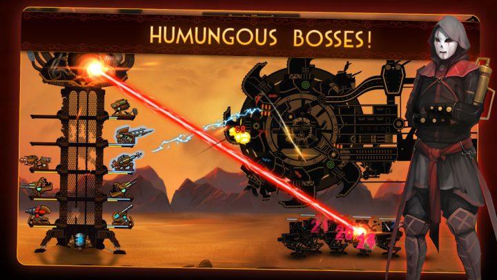 Steampunk Tower 2 1.0.8 دانلود بازی برج دفاعی استیم پانک 2 اندروید + مود
