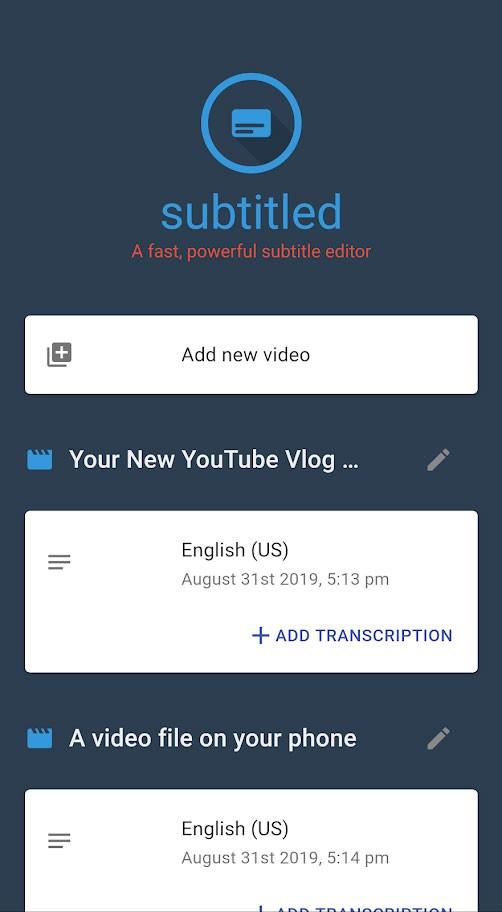 دانلود Subtitled Pro Subtitle Editor 1.0.9026 ویرایش زیرنویس در اندروید