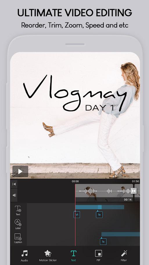 دانلود VLLO Premium 7.1.2 – برنامه ویرایش فیلم آسان و قدرتمند اندروید