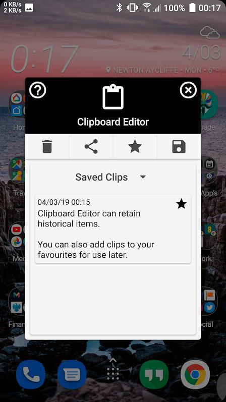دانلود Clipboard Editor Pro 4.2 – برنامه مدیریت کلیپ بورد اندروید