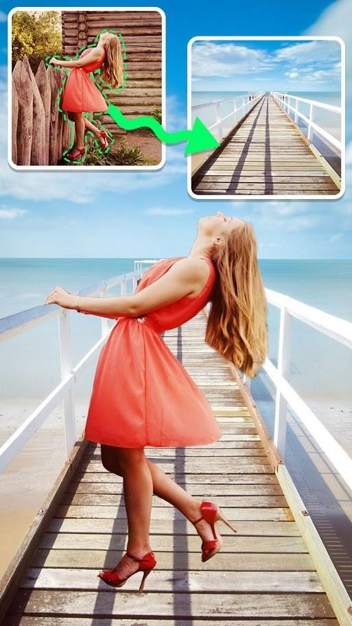 دانلود برنامه Cut Paste Photo Editor Premium 2.4 برش پس زمینه عکس اندروید