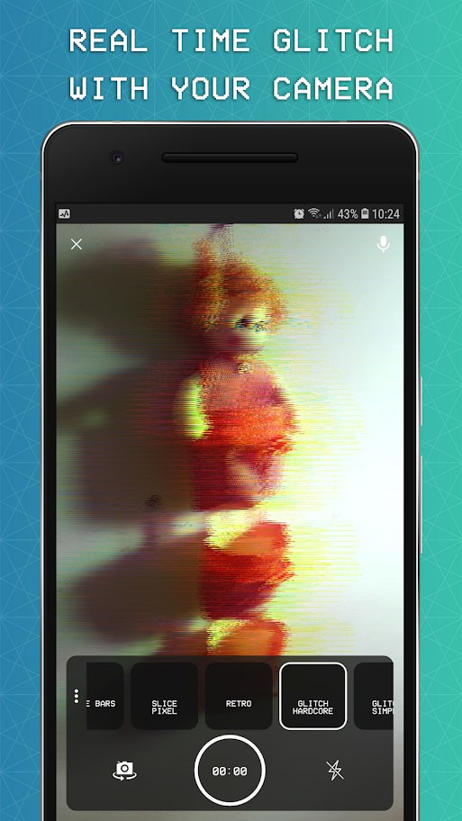 دانلود EZ Glitch Video Editor – 3D Trippy Glitch Effects Pro 1.2.5 برای اندروید