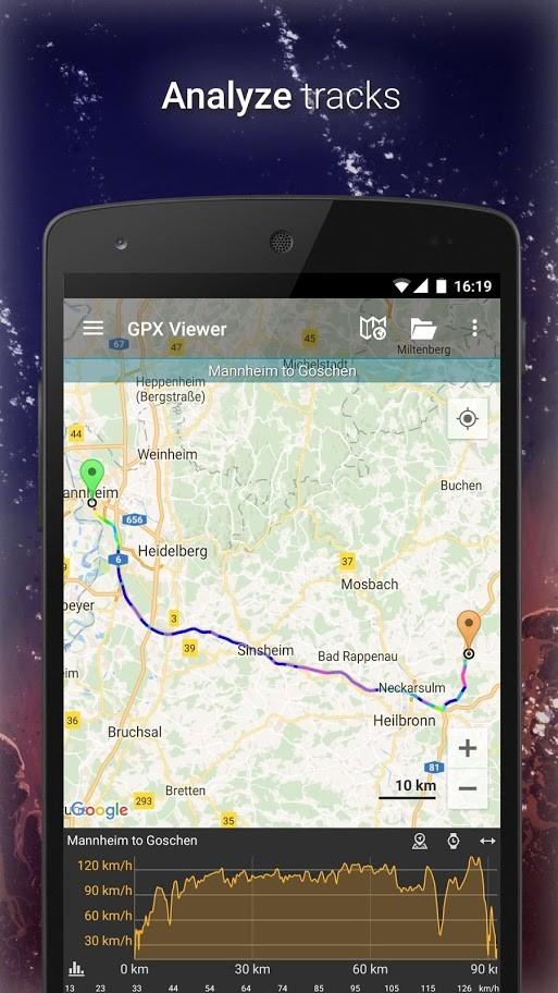 دانلود GPX Viewer PRO 1.32.5 مسیریاب کوهنوردی و فضای باز اندروید
