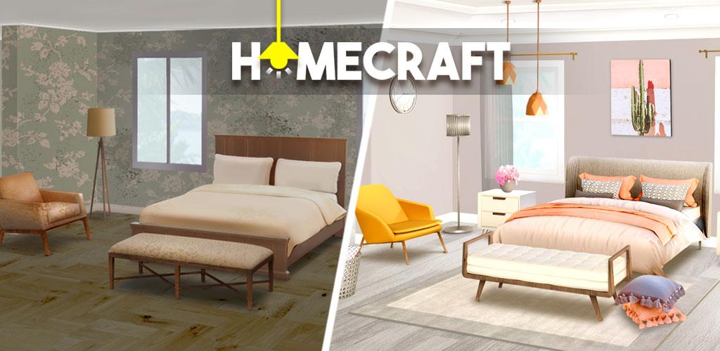 دانلود Homecraft Home Design Game 1.25.4 – بازی طراحی خانه اندروید + مود