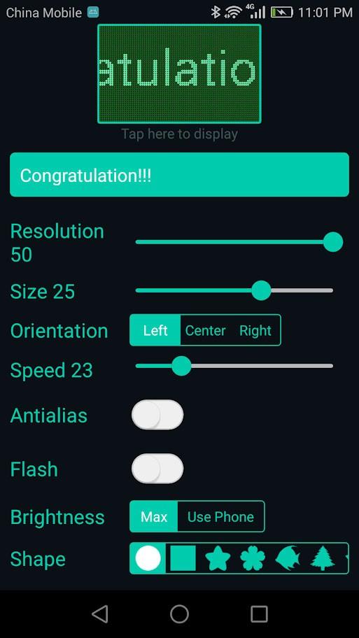 دانلود LED Scroll Pro 4.4.6 نرم افزار تابلو روان برای اندروید