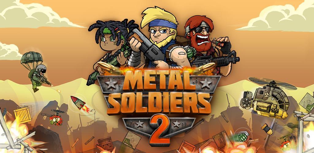 دانلود Metal Soldiers 2 2.71 بازی سربازان آهنین 2 اندروید + مود