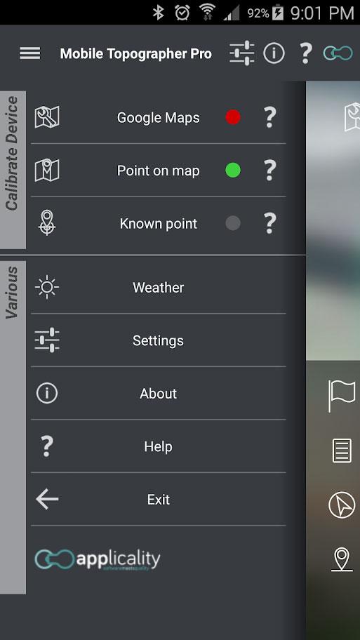 دانلود Mobile Topographer Pro 14.0.0 نقشه برداری توپوگرافی اندروید