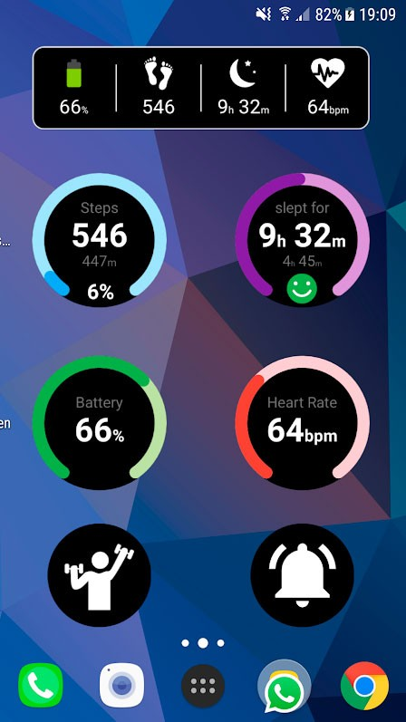 دانلود Notify & Fitness for Mi Band Pro 9.0.6 برنامه دستبند می بند اندروید