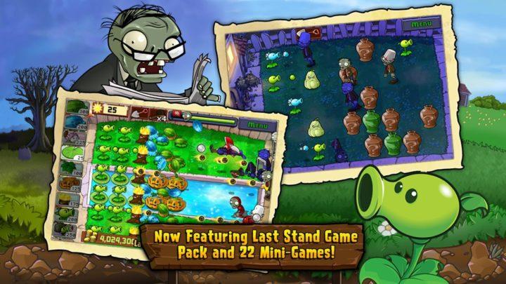 دانلود Plants vs Zombies FREE 2.9.10 – بازی گیاهان علیه زامبی ها 1 اندروید + مود