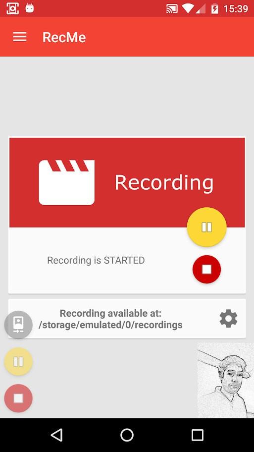 دانلود RecMe Screen Recorder Pro 2.6.0 فیلمبرداری از صفحه گوشی با صدا