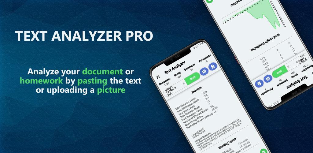 دانلود Text Analyzer Pro 7.4.0 برنامه آنالیز متن حرفه ای اندروید
