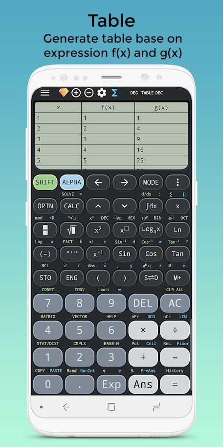 دانلود Fx Calculator 570 991 – Solve Math Premium 4.3.0 ماشین حساب اندروید