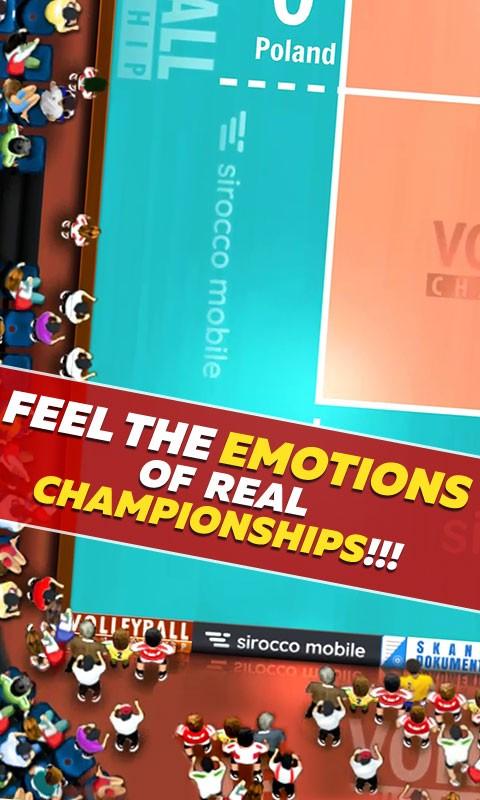 دانلود Volleyball Championship 2.00.13 بازی والیبال اندروید