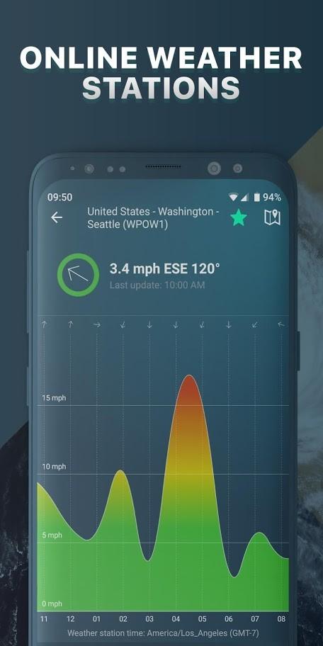 دانلود Windy.app Pro 7.8.6 پیش بینی باد و آب و هوا دریایی اندروید