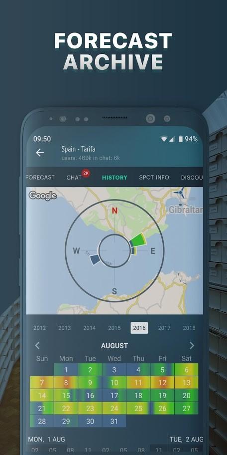 دانلود Windy.app Pro 7.5.1 – پیش بینی باد و آب و هوا دریایی اندروید