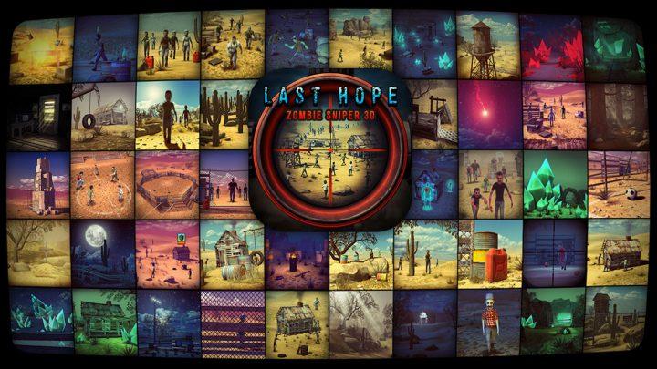 دانلود Last Hope – Zombie Sniper 3D 6.1 بازی آخرین بازمانده اندروید + مود