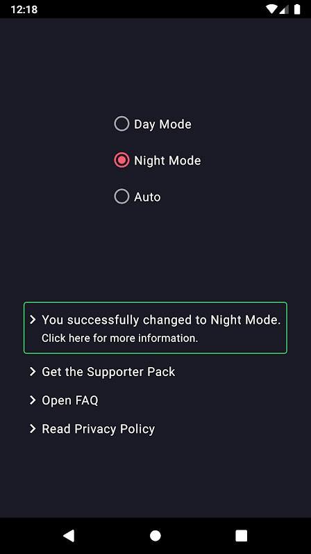 دانلود Dark Mode Premium 2.15 برنامه دارک مود اندروید