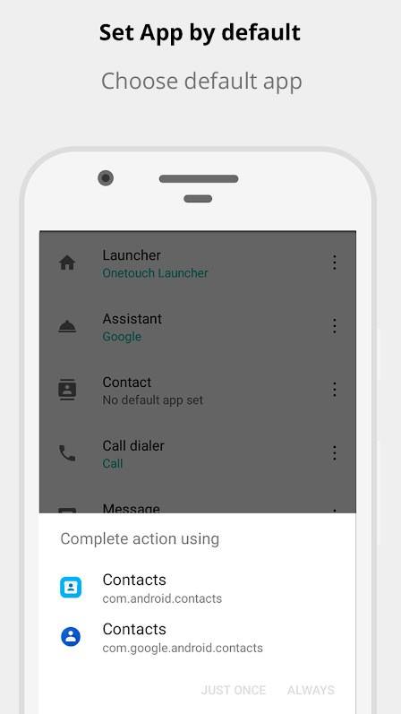 دانلود Default App Manager 2.1.3 – مدیریت برنامه های پیش فرض اندروید