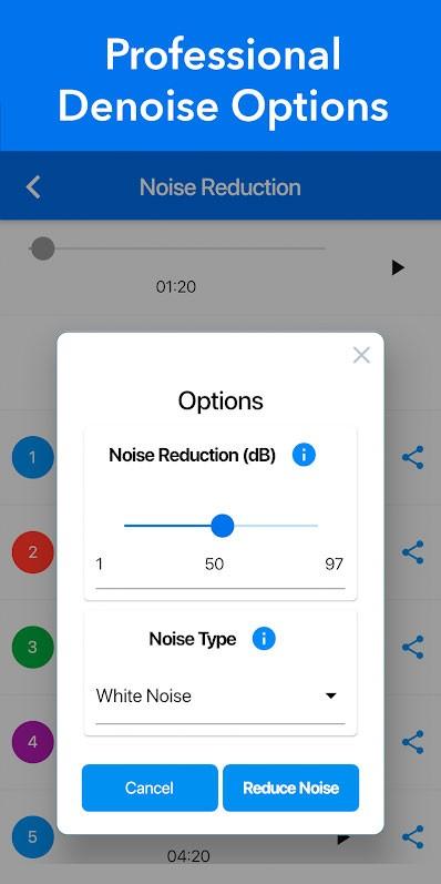دانلود Denoise – Audio Noise Removal 1.0.0 – حذف نویز از فیلم و صدای ضبط شده