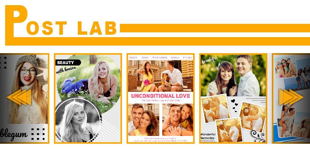 دانلود PostLab Pro 1.3 برنامه ساخت کلاژ عکس و پوستر