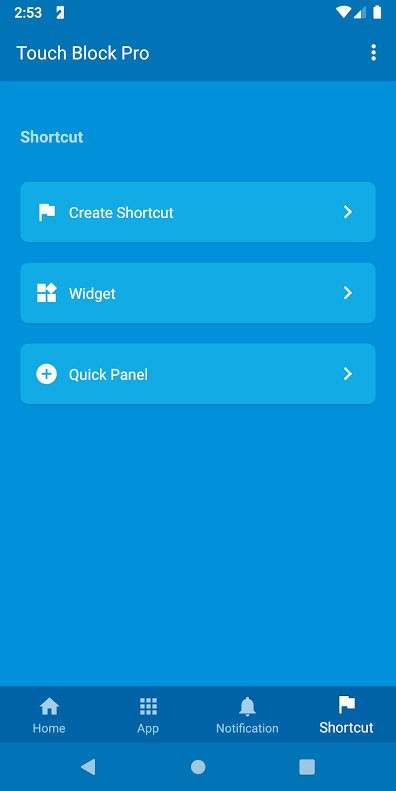 دانلود Touch Block Pro 1.3.1 برنامه قفل کردن تاچ گوشی اندروید