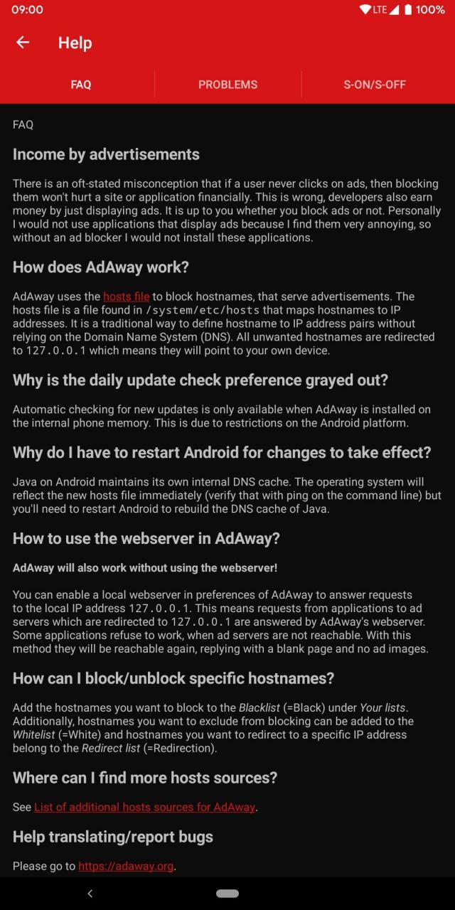 دانلود AdAway 5.0.9 حذف تبلیغات برنامه ها اندروید