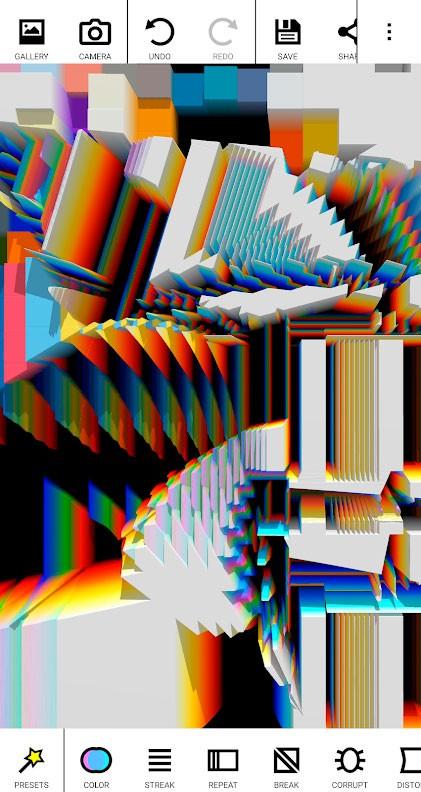 دانلود Glitch Lab Pro 1.2.1 برنامه ساخت عکس و فیلم مبهم و ناقص