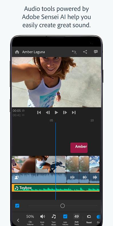 دانلود Adobe Premiere Rush Pro 1.5.28.668 برنامه ویرایش فیلم اندروید
