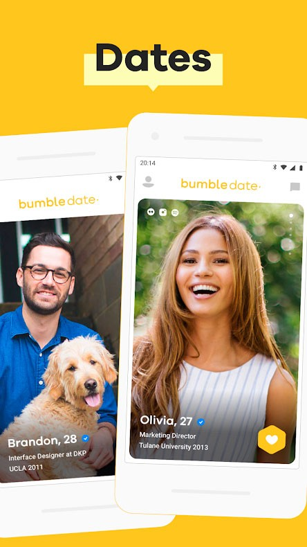 دانلود Bumble – Dating, Friends & Business 5.192.0 برنامه بامبل اندروید
