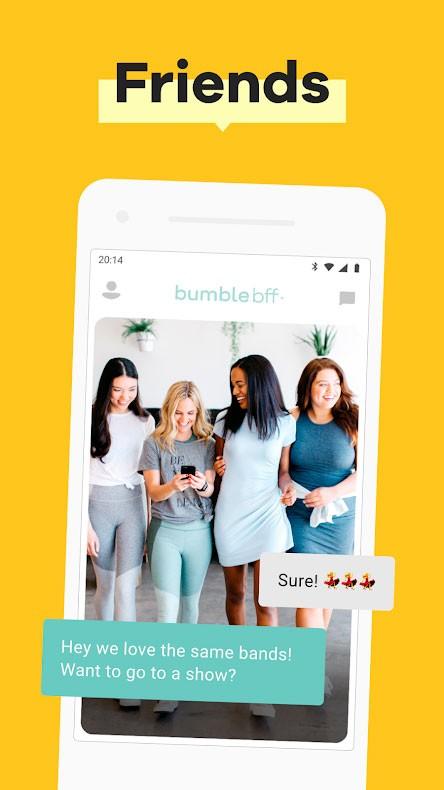 دانلود Bumble – Dating, Make New Friends & Networking 5.204.2 برنامه بامبل اندروید